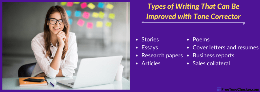 types of papers and docs to check with tone identifier